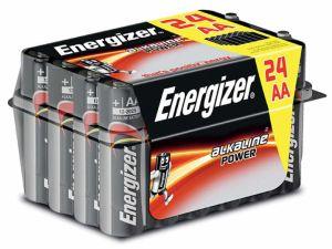 BATERIA ENERGIZER ALKALINE POWER AA LR6 24SZT.