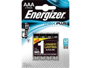 BATERIA ENERGIZER MAX PLUS AAA LR03 1,5V 4SZT.