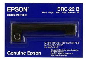 EPSON Kaseta z taśmą czarną ERC22 C43S015358