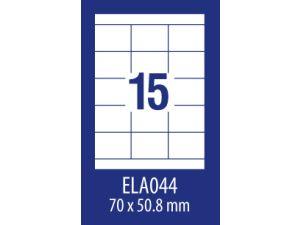 ETYKIETA AVERY ZWECKFORM ECONOMY E100 ELA021 105X48MM 100 ARKUSZY