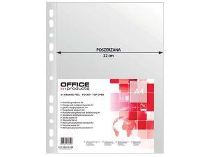 KOSZULKA GROSZKOWA OFFICE PRODUCTS A4 POSZERZANA 90 MIC. 50 SZT.