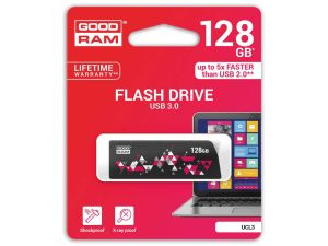 PENDRIVE GOODRAM 128GB USB 3.0 CL!CK CZARNY