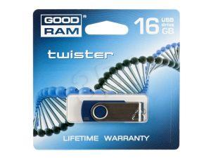 PENDRIVE GOODRAM 16GB USB 2.0 TWISTER NIEBIESKI