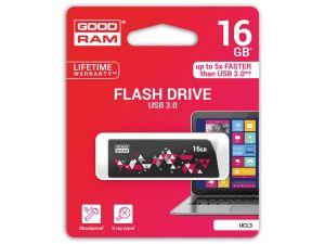 PENDRIVE GOODRAM 16GB USB 3.0 CL!CK CZARNY
