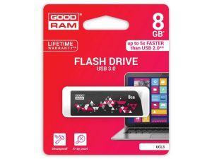 PENDRIVE GOODRAM 8GB USB 3.0 CL!CK CZARNY