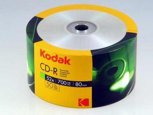 PŁYTA CD-R KODAK 700MB 52X 700MB 50 SZT. SPINDLE