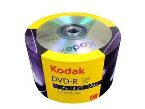 PŁYTA DVD-R KODAK 16X 4,7GB 50SZT. SPINDLE
