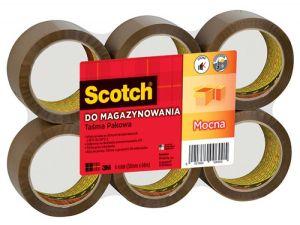 TAŚMA PAKOWA SCOTCH 309 50X66 MOCNA BRĄZOWA
