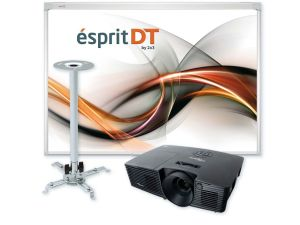ZESTAW ESPRIT DT+PROJEKTOR DX342+UPB2 PROJEKTOR OPTOMA