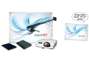 ZESTAW ESPRIT MT.W+PROJEKTOR EB520+UPXS MT WALL-SMART PAD+KOMPUTER MOBILE PC